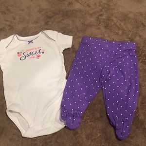 Carters 3 month set